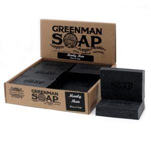 Greenman Soap 100g – Manly Man