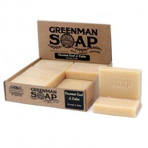 Greenman Soap 100g – Coconut Cool & Calm