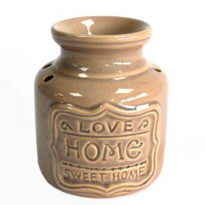 Lrg Home Oil Burner – Grey- Love Home Sweet Home