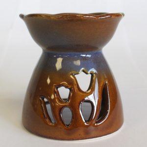 Tulip Design Oil Burner – Amber