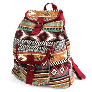 Jacquard Bag – Chocolate Backpack
