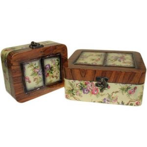 Set of 2 Boxes – Small Victorian