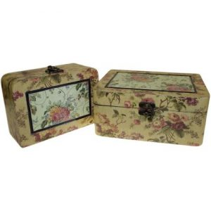 Set of 2 Boxes – Med Victorian