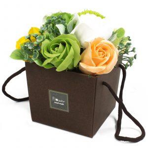 1x Soap Flower Bouquet – Spring Flowers