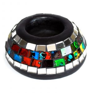 Moroccan Mosaic Simple Candle Holder