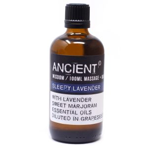 Sleepy Lavender 100ml Massage Oil