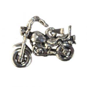 Silver Harley Pendant