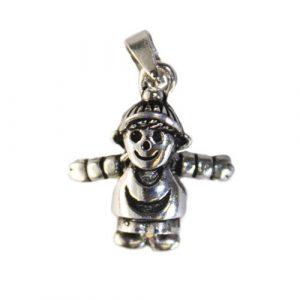 Silver Baby Boy Pendant