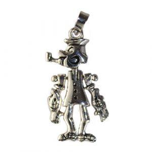 Silver Popeye Pendant