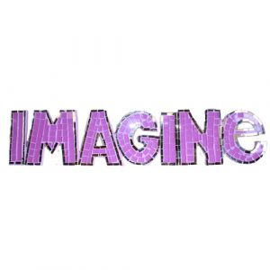 Mosaic  – Imagine – Purple