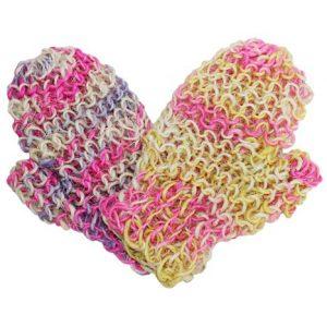 Fat Springy-Stringy Jute Glove – Colours