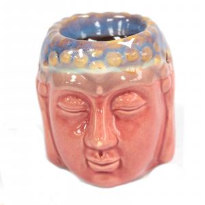 Buddha Oil Burner – Rose & Teal