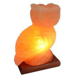 Animal salt lamp – Owl 2-3kg