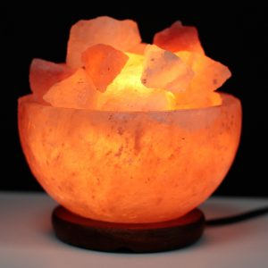 Salt Fire Bowl and Chunks – 15cm x 9cm