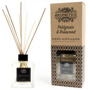 200ml Petitgrain & Rosewood Essential Oil Reed Diffuser