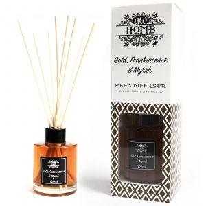 120ml Reed Diffuser – Gold, Frankincense & Myrrh
