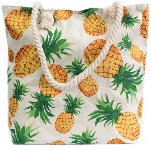 Rope Handle Bag – Pineapples