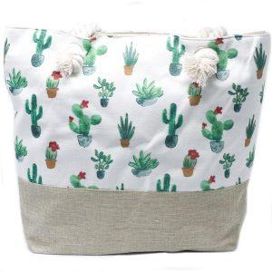 Rope Handle Bag – Mini Cactus
