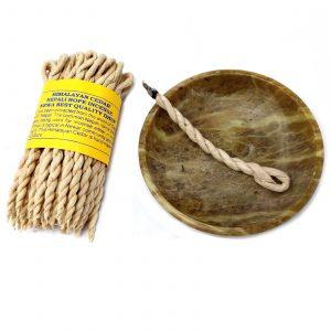 Pure Herbs Cedar Rope Incense