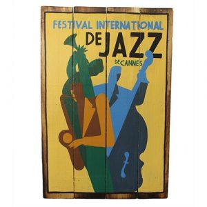 Rough Wooden Sign – Jazz De Cannes