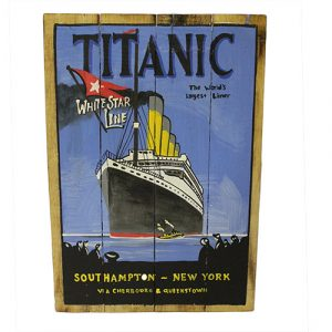 Rough Wooden Signs – Titanic