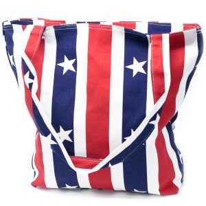 Strong Canvas Bags-Red White & Blue