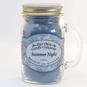 Scented Candle Jar -Summer Night