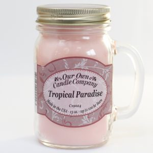 Scented Candle Jar -Tropical Paradise
