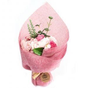 Standing Soap Flower Bouquet – Pink