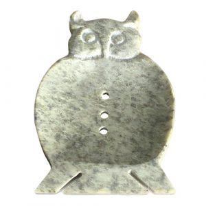 Large Soapstone Dish – Owl