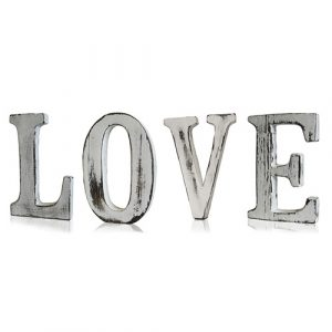 Shabby Chic Letters – LOVE