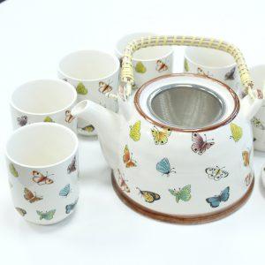 Herbal Teapot Set – Butterflies