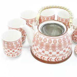 Herbal Teapot Set – Amber