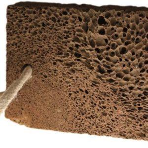 Volcanic Lava Foot Stone -Square Shape
