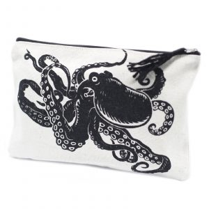 Classic Zip Pouch – Tentacles