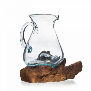Molten Glass on Wood – Drinks Jug