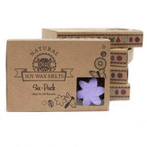 Box of 6 Wax Melts – Lavender Fields